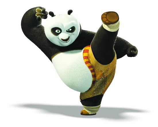 万氏兄弟中国元素功夫熊猫
