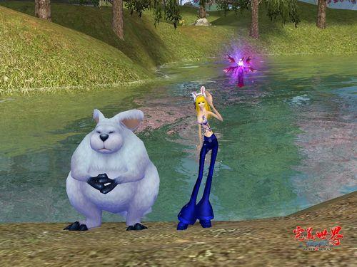 兔年至尊宠物揉脸兔 完美世界经典版 可爱玉兔大盘点