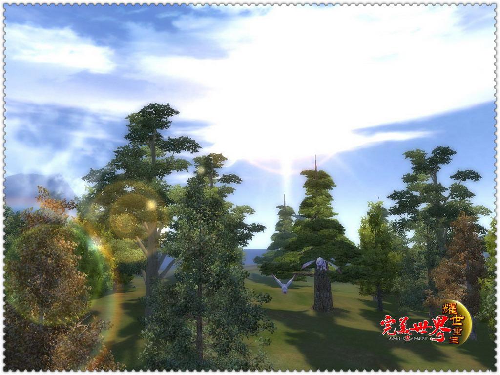 《完美世界:耀世重生》寻找春天的足迹