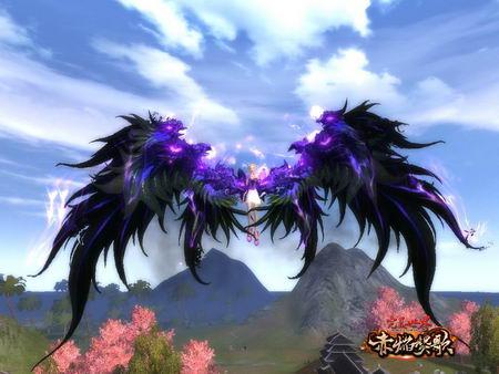 坤魔首首首吧衣图吧_图片: 图7-羽族飞行器:紫焰魔羽.jpg